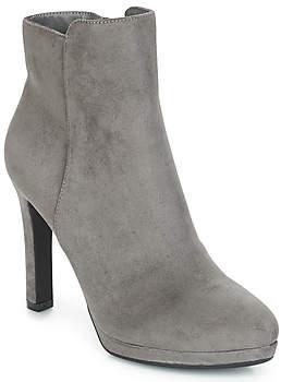 Buffalo David Bitton HEEL BOOTIE PLATEAU women's Low Ankle Boots in Grey