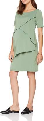 Mama Licious Mamalicious Women's Mljanne June 2/4 Jersey Abk. Dress Nf Green Bay 32R (Size: X-Large)