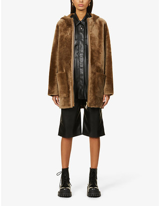 Sandro Jaky reversible shearling coat