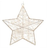 "Sterling 23"" LED Lighted Star Silver"