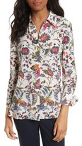 Tory Burch Women's Erica Print Silk Shirt