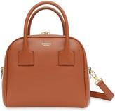 Burberry Small Stripe Intarsia Leather Cube Bag