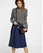 Express pleated midi skirt