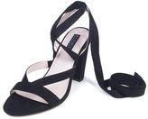 ELOQUII Plus Size Lili Ankle Wrap Heel