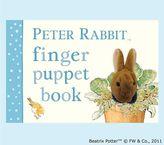 Pottery Barn Kids Peter Rabbit Finger Puppet Book