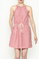 Hayden Striped Halter Dress