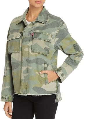 Levi's Camo-Print Utility Jacket