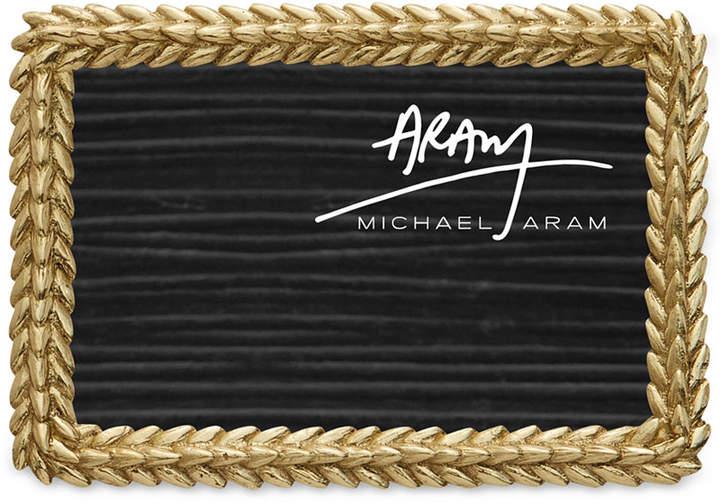 "Michael Aram Wheat Collection 4"" X 6"" Frame"