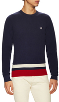 Fred Perry Bold Tipped Waffle Sweater