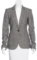 Rachel Zoe Plaid Wool Blazer