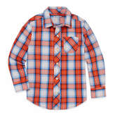Arizona Long Sleeve Button-Front Shirt Boys