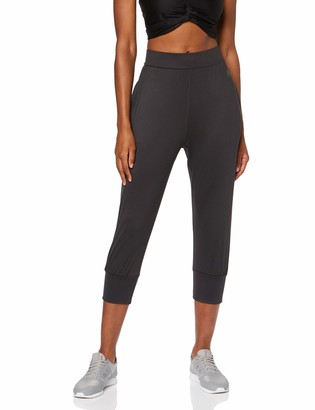 Aurique Amazon Brand Women's Cropped Joggers