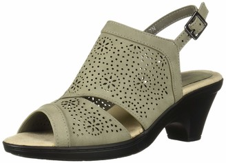 Easy Street Shoes Women's Linda Slingback Dress Casual Sandal with Cutouts Sandal