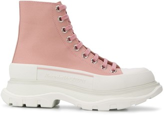 Alexander McQueen Lace-Up Chunky Trainers