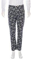 Dolce & Gabbana Printed Velvet Pants