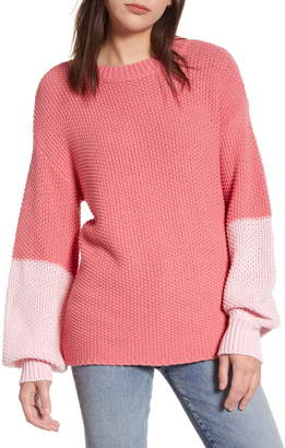 Wildfox Couture Love Block Swinton Sweater