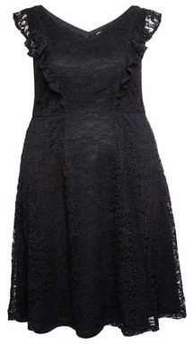 Dorothy Perkins Womens **Dp Curve Black Lace Dress, Black