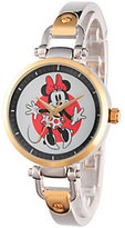 Disney Minnie Mouse Women's Two-Tone Bracelet Watch