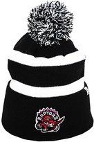 '47 Toronto Raptors Classic Logo Striped Cuff Knit Hat