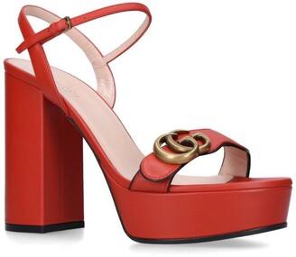Gucci Marmont Platform Sandals 85
