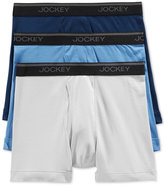Jockey Men's Tagless StayCool Boxer Briefs, 3 Pack