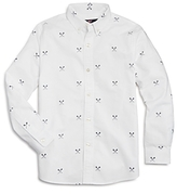 Vineyard Vines Boys' Lacrosse Print Oxford Shirt - Big Kid