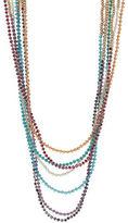 A.B.S. By Allen Schwartz Eight Row Necklace Set