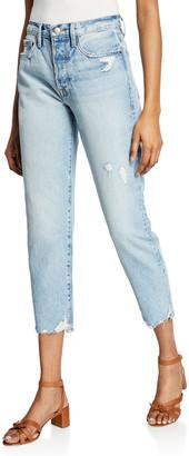 Frame Le Original High-Rise Straight Crop Jeans