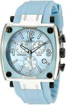 Adee Kaye Women's AK4051-L-BLU Shox Swiss ISA Quartz Chronograph Movement