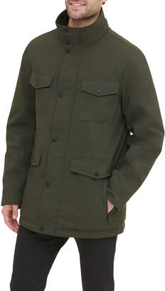 Kenneth Cole New York Men's Jacket with Zip-Out Bib