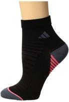 adidas Superlite Speed Mesh Quarter 2-Pack Women's Quarter Length Socks Shoes