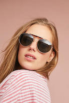 Anthropologie Charlotte Aviator Sunglasses