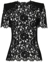 Dolce & Gabbana Cotton-blend lace top