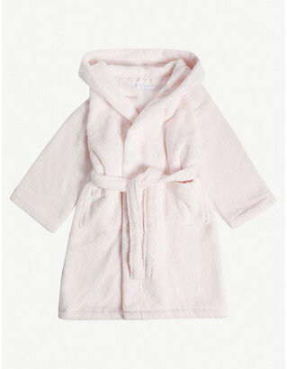 The Little White Company Bear ears hydrocotton dressing gown 2-5 years