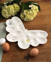 """Lenox Butterfly Meadow"""" Egg Platter"""