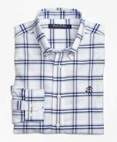 Brooks Brothers Non-Iron Supima® Cotton Plaid Sport Shirt