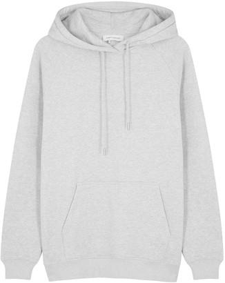 Ninety Percent Grey hooded organic cotton sweatshirt