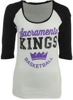 5th & Ocean Women's Sacramento Kings Side Zone Raglan T-Shirt