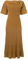 Thumbnail for your product : Proenza Schouler Smocked Knitted Dress