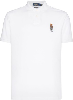 Polo Ralph Lauren bear logo-embroidered polo shirt