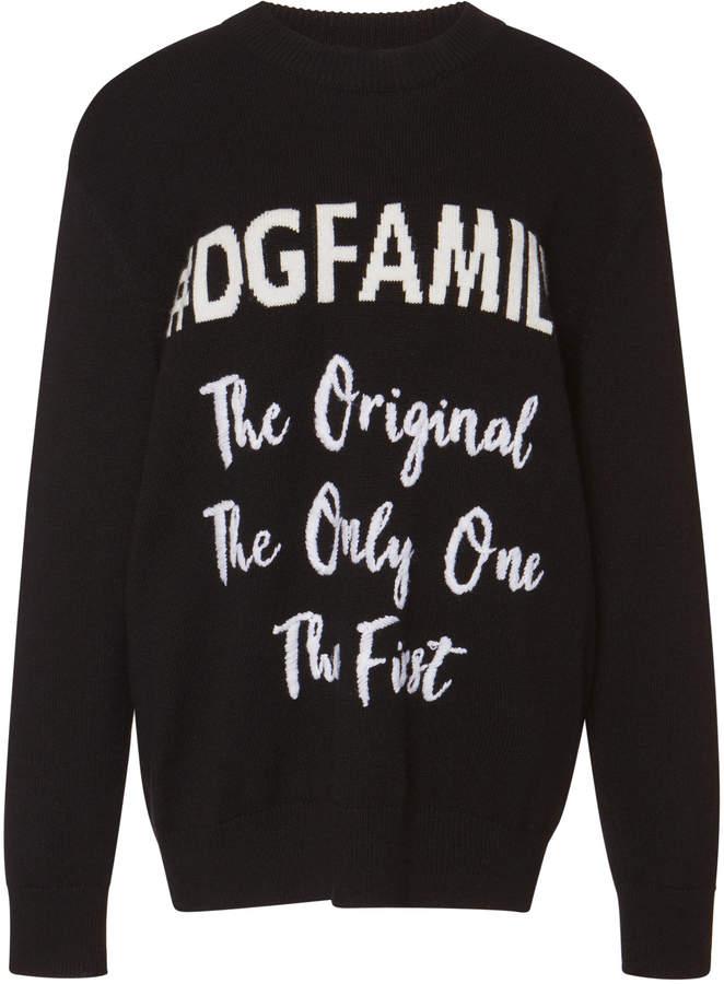 Dolce & Gabbana Family Cashmere-Blend Sweater
