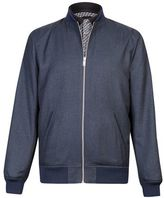Burton Burton Blue Denim Look Smart Bomber Jacket