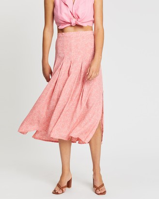 Faithfull The Brand Cuesta Midi Skirt