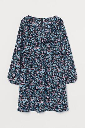H&M Short Dress - Blue