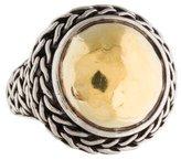 John Hardy Two-Tone Dome Ring