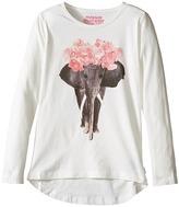 Munster Ivory Long Sleeve T-Shirt (Toddler/Little Kids/Big Kids)