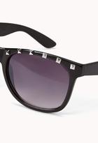 Forever 21 F5021 Studded Wayfarer Sunglasses