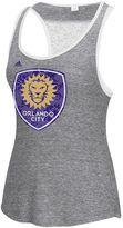 adidas Women's Orlando City SC Pearl Logo Lace Back Tank Top