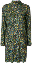 A.P.C. floral buttoned dress