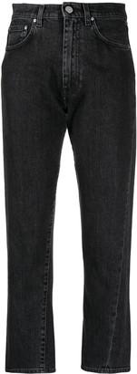 Totême High-Waisted Cropped Jeans